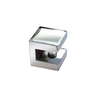 Suporte Vidro Quad  8mm Crom