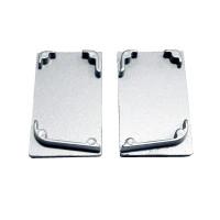 Alumínio Perfil Ponteira Escovado