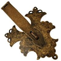 Porta Cadeado Colonial OV