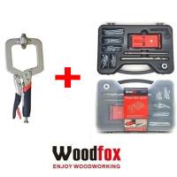 Woodfox Combo JIG Duplo c/Grampo