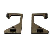 Alumínio Perfil  Bronze Ponteira